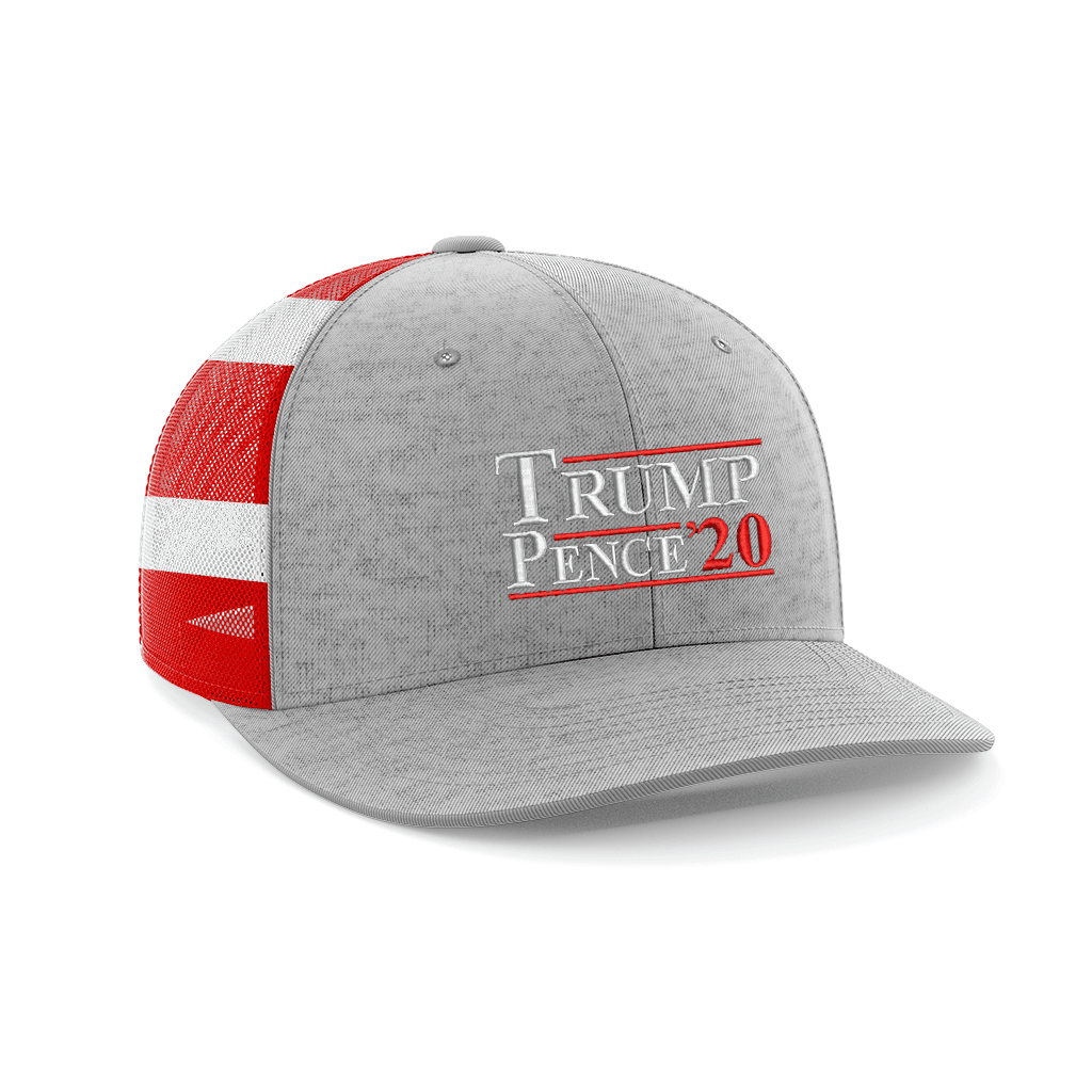 Trump/Pence 20' Embroidered Trucker Hat