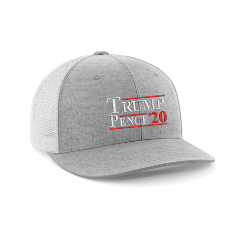 Image of Trump/Pence 20' Embroidered Trucker Hat