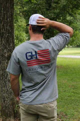 Image of The Original Shirts Greater Half 100% Ring Spun Cotton Gravy Grey S