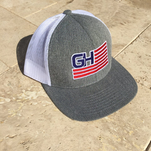 Greater Glory Snap Back (Multiple Colors) Hats Greater Half Gray/Heather/White