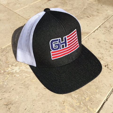 Greater Glory Snap Back (Multiple Colors) Hats Greater Half Black/Heather/White