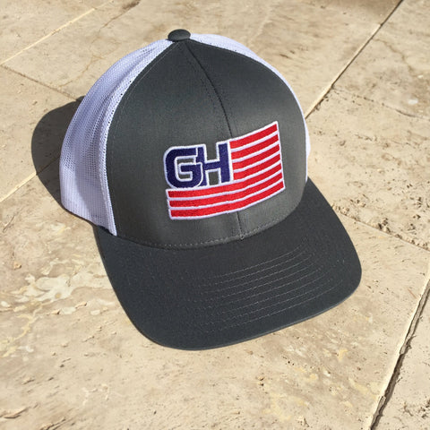 Greater Glory Snap Back (Multiple Colors) Hats Greater Half Graphite/White