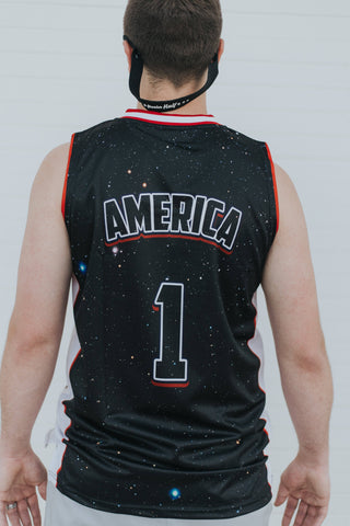 Image of USA Galaxy Basketball Jersey