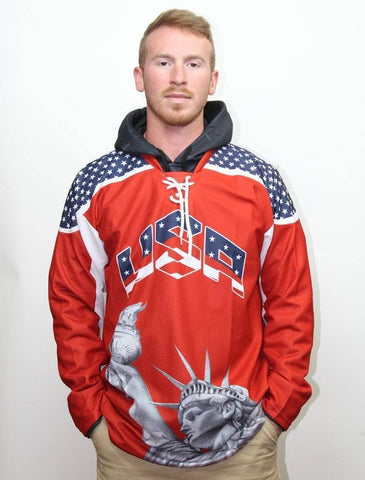 Image of Liberty America #1 Hockey Jersey