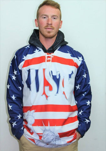 Image of USA Liberty Hockey Jersey