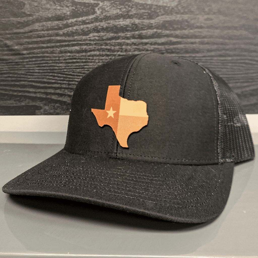 Texas Leather Patch Hat