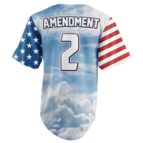 Image of Team America 2nd Amendment Jersey v2 Shirt Greater Half