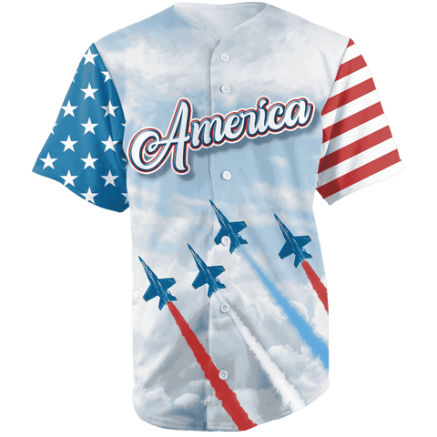 Team America 2nd Amendment Jersey v2 Shirt Greater Half