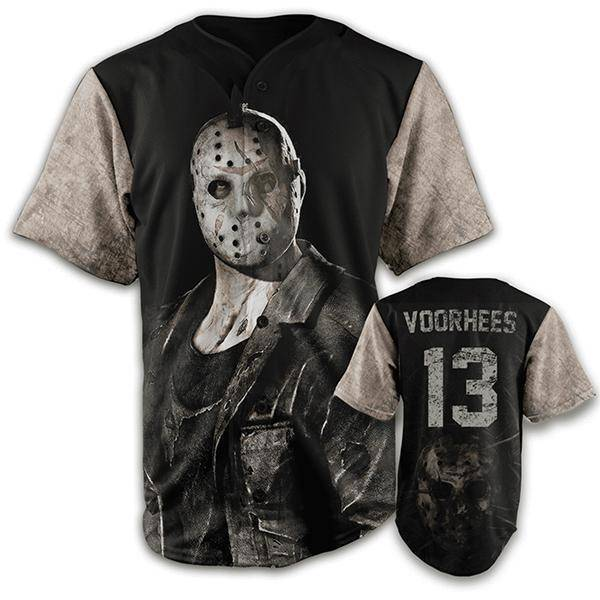 Jason Voorhees Halloween Edition Jersey-Greater Half