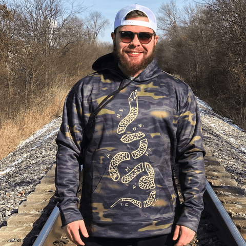 Join or Die - Gold Camo Shirt Greater Half