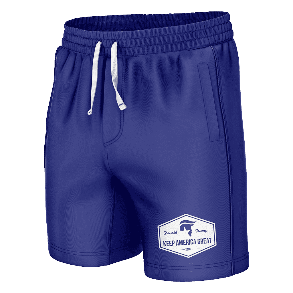 Keep America Great Blue Swim Trunks