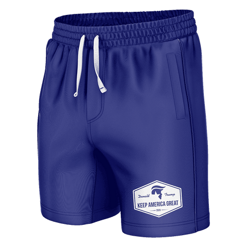 Image of Keep America Great Blue Swim Trunks