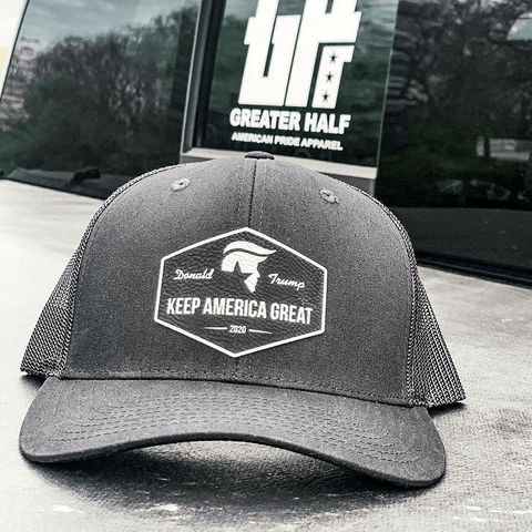 Keep America Great Black Patch Hat