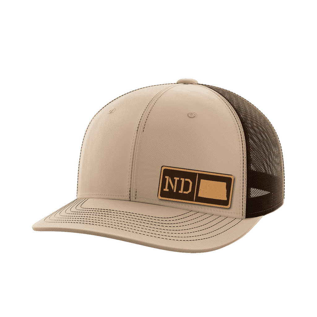 North Dakota Homegrown Collection (leather)