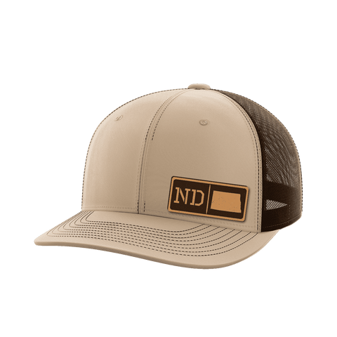Image of North Dakota Homegrown Collection (leather)