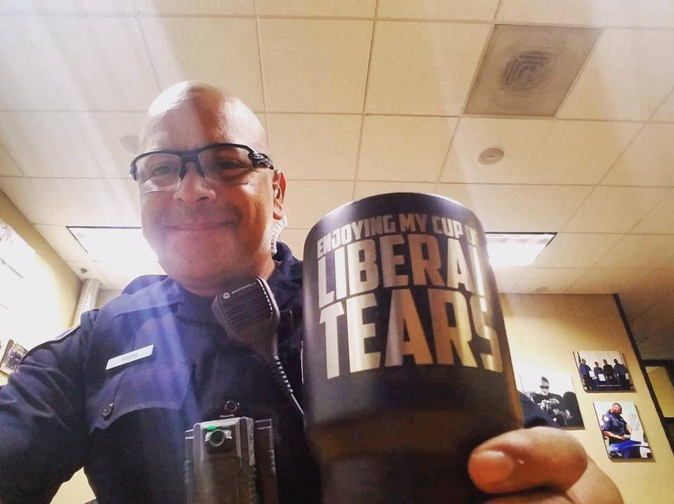 Enjoying My Cup of Liberal Tears Tumblers teelaunch
