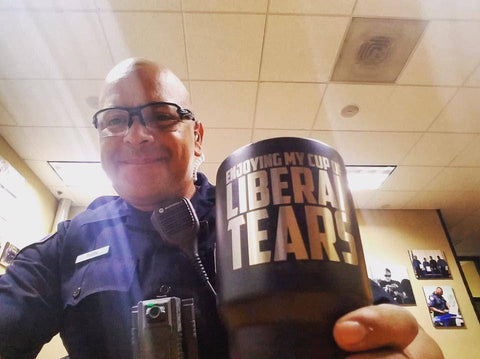 Image of Enjoying My Cup of Liberal Tears Tumblers teelaunch