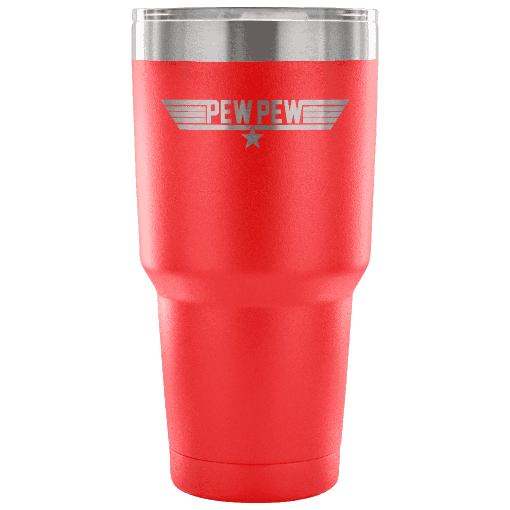 Top Pew Tumbler Tumblers teelaunch red