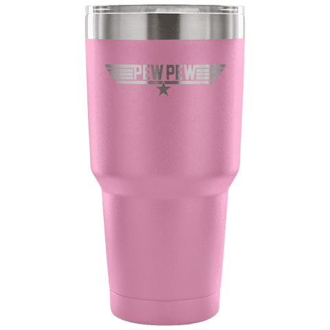 Top Pew Tumbler Tumblers teelaunch Light Purple