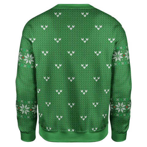Image of Trump Smirking Christmas Sweater