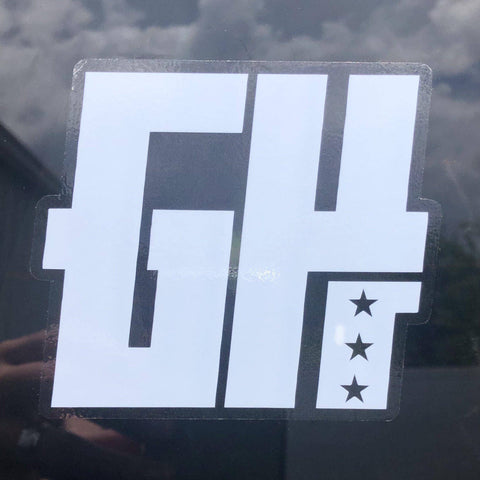 Image of Greater Half Decal