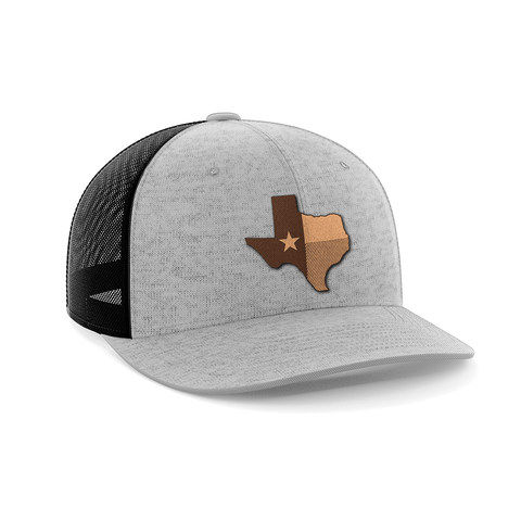 Image of Texas Leather Patch Hat