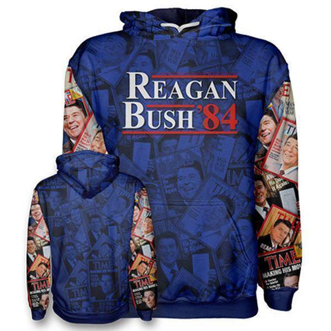 Image of Reagan Bush 84 Hoodie-Greater Half