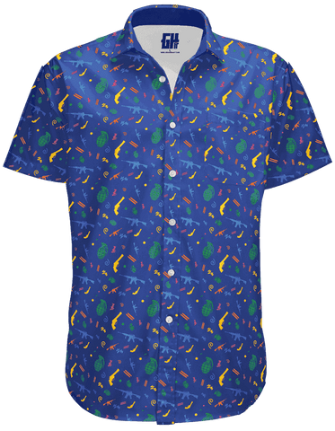 Image of Retro Pew Button Down