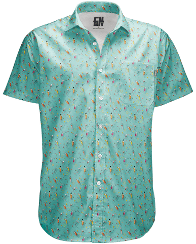 Image of Cocktails Button Down - Greater Half