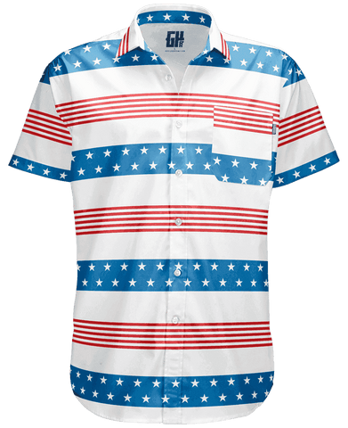 Image of Stripes of Glory Button Down Shirt