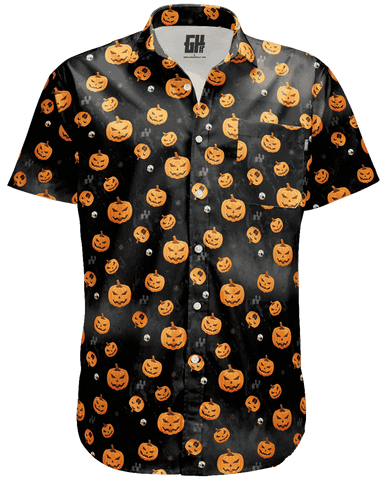 Image of Pumpkin Button Down