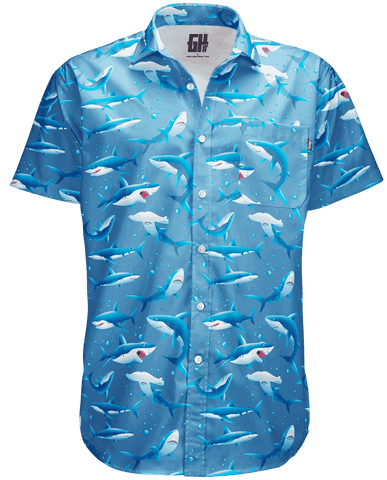 Image of Sharks Button Down