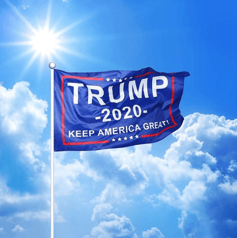 Image of Trump 2020 Flag