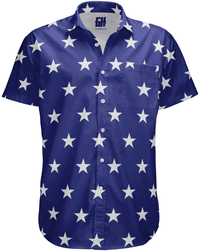 Stars Button Down