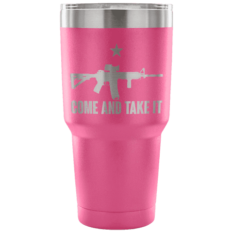 Image of Come and Take It Tumbler / 30 oz. - Greater Half
