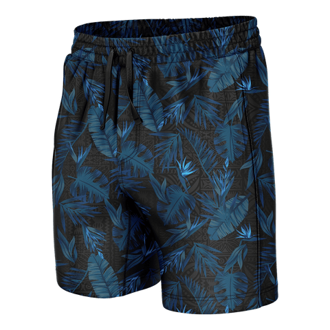Tribal Flower Swim Trunks