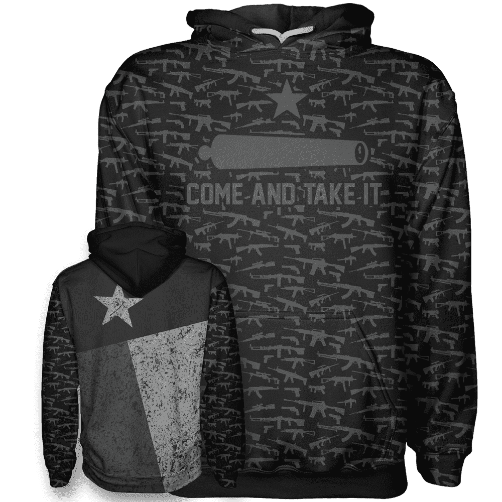 Come and Take It - Texas Flag - Greater Half