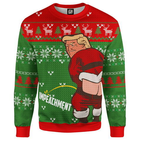 Trump ImPEEchment Christmas Sweater