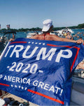 Trump 2020 Flag - Greater Half