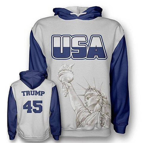 Trump Liberty Hoodie-Greater Half