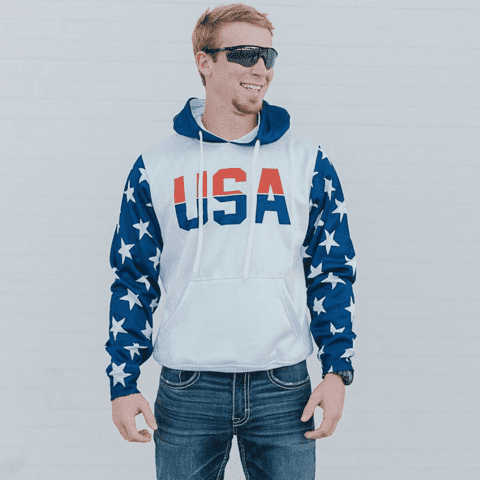 Image of Retro America #1 Hoodie Shirt Greater Half
