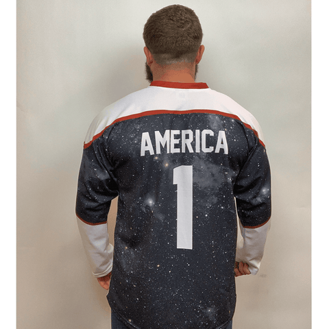 Image of USA Galaxy Hockey Jersey