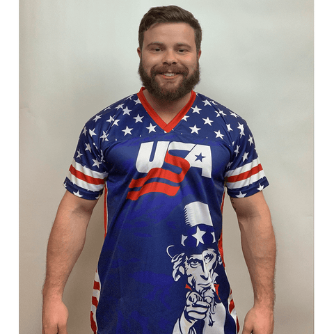 Uncle Sam Football Jersey