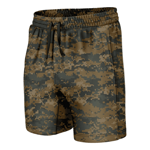 Woodland Digital Camo Swim Trunks