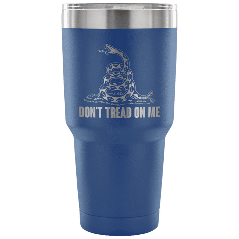 Don't Tread On Me Tumbler Tumblers teelaunch Blue