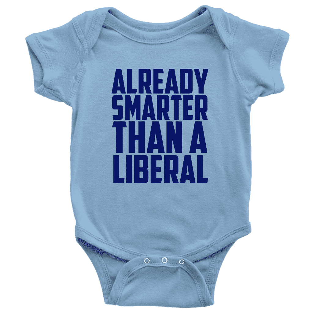 Already Smarter Than a Liberal - Greater Half