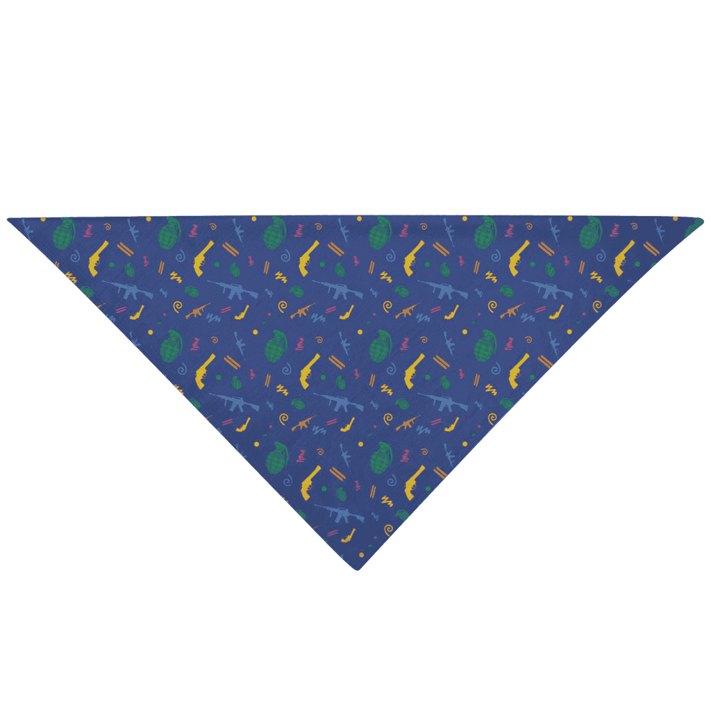 Retro Pew Pet Bandana