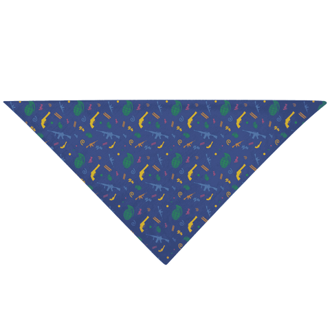 Image of Retro Pew Pet Bandana
