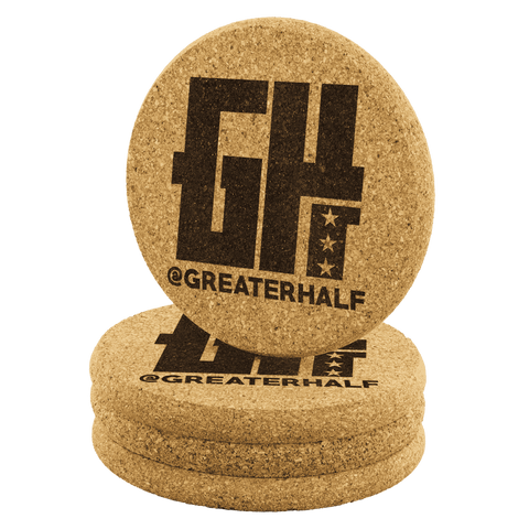 Image of @GreaterHalf Coasters - Greater Half