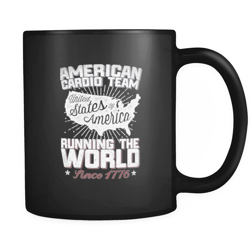 American Cardio Team Mug - Greater Half